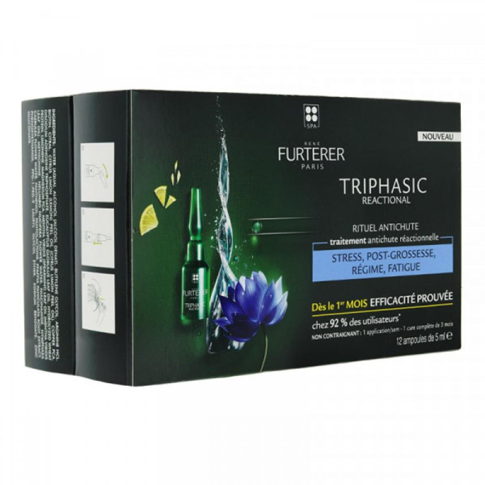 Комплекс против выпадения волос Rene Furterer Triphasic Sudden
