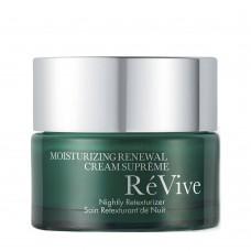 Крем ночной для увлажнения, восстановления и улучшения текстуры склонной к сухости кожи Revive Moisturizing Renewal Cream Supreme Nightly Retexturizer