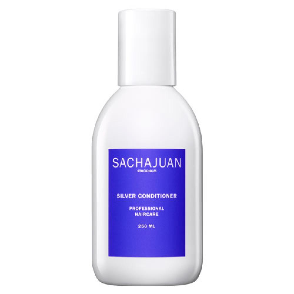 Кондиционер для нейтрализации желтого пигмента и защиты холодных оттенков блонда Sachajuan Silver Conditioner