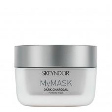 Интенсивная очищающая поры маска Черный уголь Skeyndor Mymask Dark Charcoal Purifying Mask