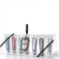 Коллекция зубных паст разных вкусов Marvis Flavour Collection