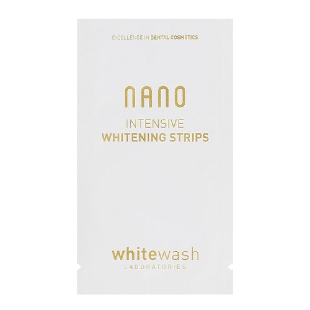 Интенсивно отбеливающие полоски WhiteWash Laboratories Nano Intensive Whitening Strips