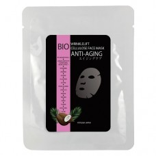 Биоцеллюлозная маска для лица Антивозрастная Yotsuba Japan Anti-aging Mask