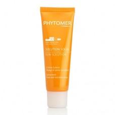 Солнцезащитный крем для лица и чувствительных зон Sun Solution Sunscreen SPF30 Face And Sensitive Areas Phytomer
