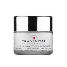 Анти-возрастной крем для защиты чувствительной кожи Sensitive Skin Protection Cream SPF 15 Transvital