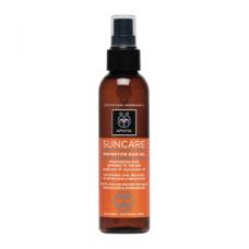 Солнцезащитное масло для волос Apivita Suncare Protective Hair Oil