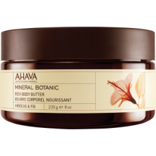 Масло для тела гибискус/инжир Ahava Body Butter Mineral Botanic Hibiscus