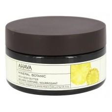 Масло для тела ананас/персик Ahava Body Butter Pineapple and White Peach