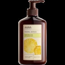 Нежное молочко для тела ананас/персик Ahava Mineral Botanic Body Lotion Pineapple and White Peach