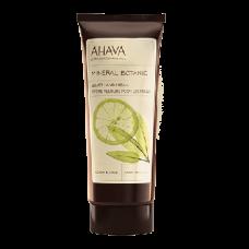 Бархатный крем для рук лимон/шалфей Ahava Mineral Botanic Hand Cream Lemon Sage
