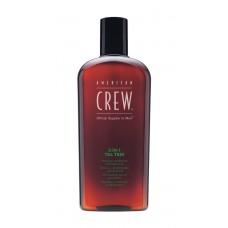 Средство 3-в-1 по уходу за волосами и телом с маслом чайного дерева American Crew 3-in-1 Tea Tree