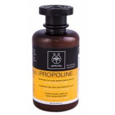 Шампунь для Сухих и Обезвоженных волос с миндалем и медом Apivita Shampoo for Dry-Dehydrated Hair