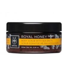 Скраб для тела Королевский мед с морской солью Apivita Body Scrub with Sea Salts