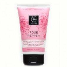 Корректирующий крем для тела Роза и Перец Apivita Firming and Reshaping Body Cream