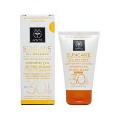 Солнцезащитный тонирующий крем для лица легкой текстуры Suncare Oil Balance Light Texture Tinted Face Cream SPF30