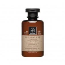 Шампунь от перхоти для сухих волос с сельдереем и прополисом Apivita Dry Dandruff Shampoo