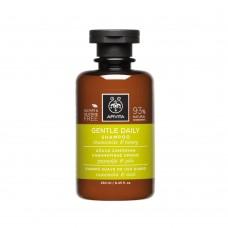 Шампунь для частого использования с ромашкой и медом Apivita Shampoo for Frequent Use