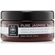 Деликатно отшелушивающий крем Чистый Жасмин Apivita Gentle Exfoliating Cream