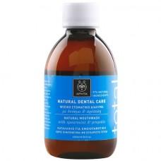 Средство для ополаскивания полости рта с мятой и прополисом Apivita Natural Mouthwash