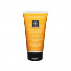 Кондиционер для волос питающий и восстанавливающий с оливковым маслом и медом Apivita Nourish and Repair Conditioner