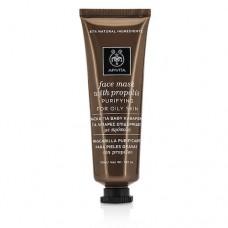 Маска для лица с прополисом Очищение для Жирной Кожи Apivita Purifying Face Mask for Oily Skin