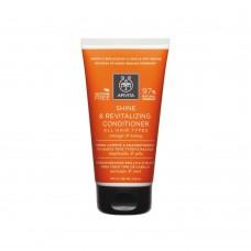 Кондиционер восстанавливающий силу и блеск волос с апельсином и медом Apivita Shine and Revitalizing Conditioner for All Hair Types