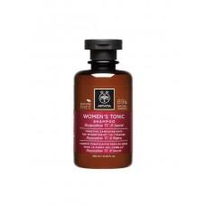 Тонизирующий шампунь от выпадения волос с облепихой и лаурелью Apivita Women's Tonic Shampoo