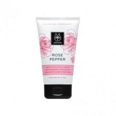 Интенсивно отшелушивающий крем Роза и перец Apivita Deep Exfoliating Cream