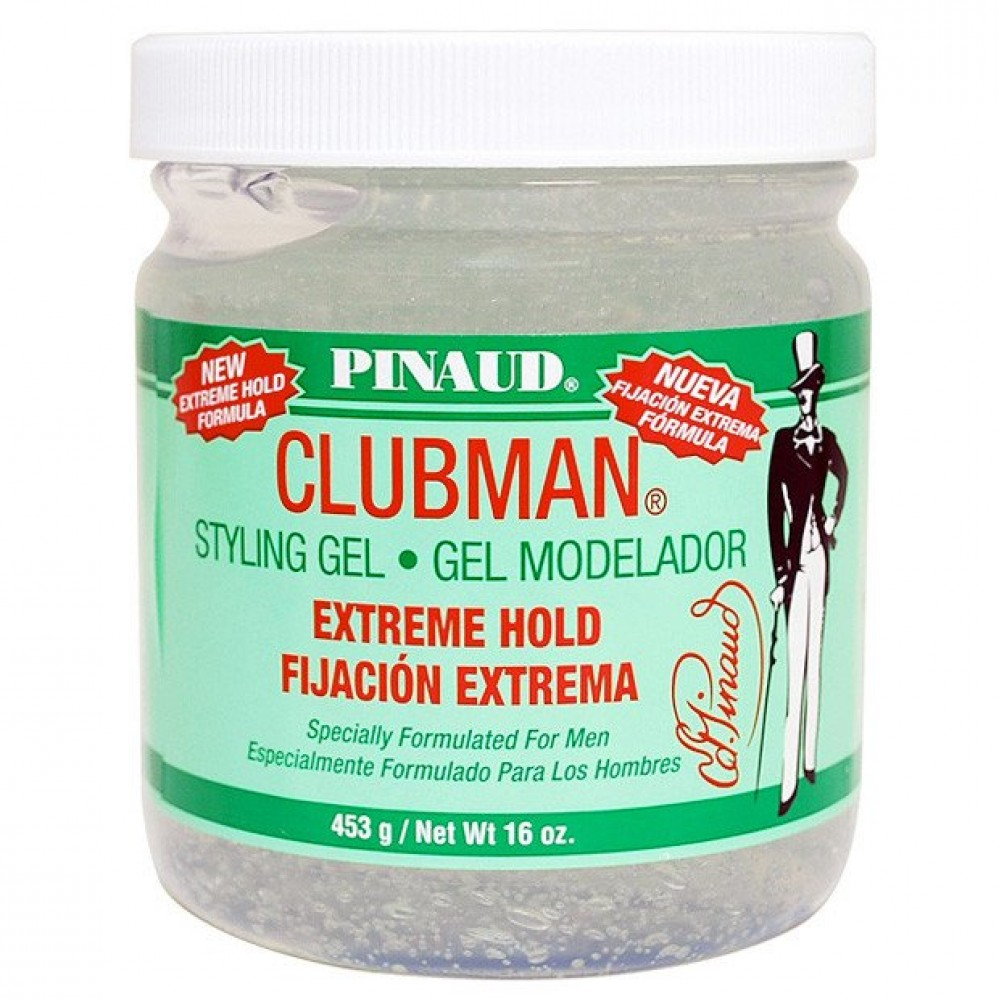 Гель для укладки экстремальной фиксации Clubman Extreme Hold Styling Gel