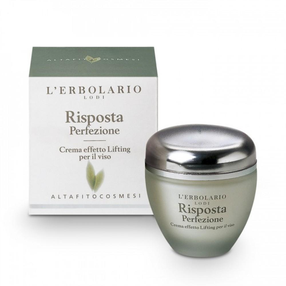 Крем для лица с эффектом лифтинга Совершенство L'Erbolario Risposta Perfezione