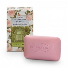 Душистое мыло Роза L'Erbolario Sapone Al Profumo di Rosa