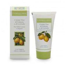 Крем для лица с Лимоном и Огурцом L'Erbolario Crema Viso Al Limone e al Cetriolo