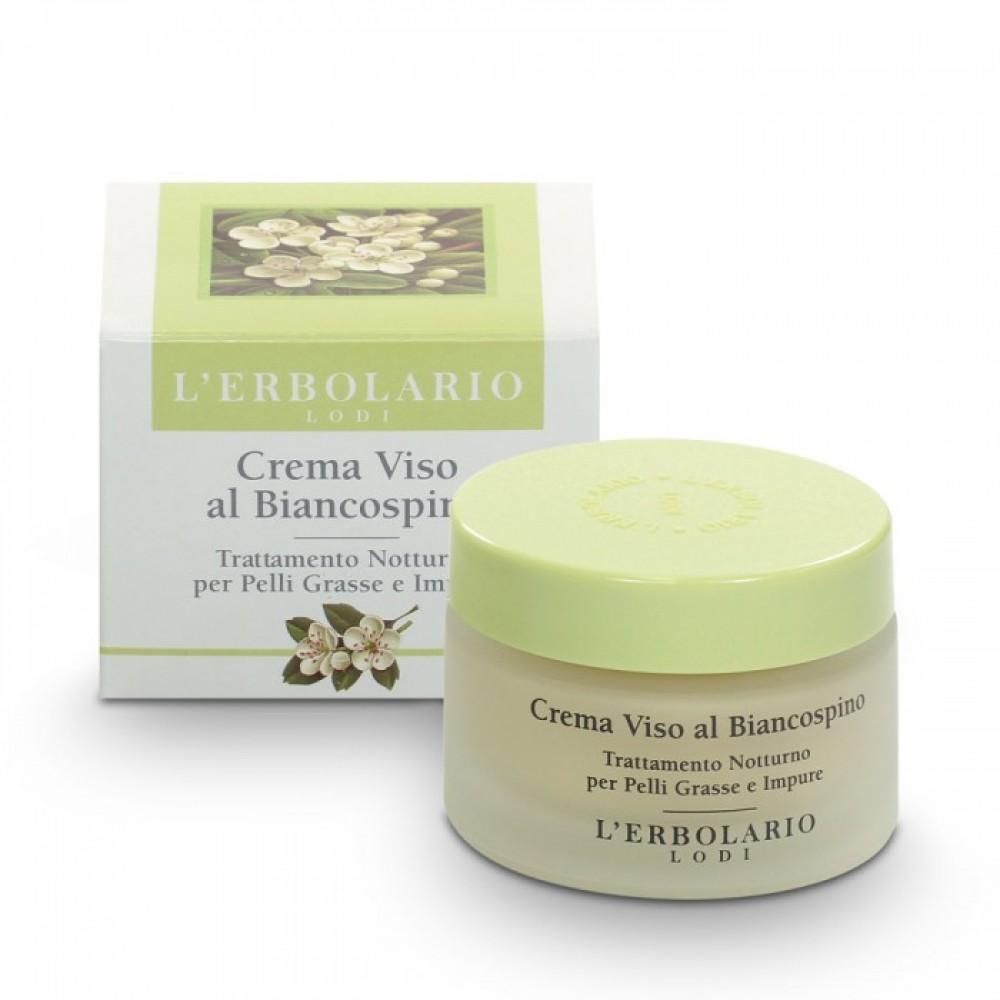 Крем для проблемной кожи с Боярышником L'Erbolario Crema Viso al Biancospino