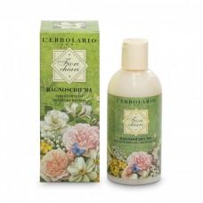 Пена для ванны-гель для душа Белые Цветы L'Erbolario Bagnoschiuma Fiorichiari