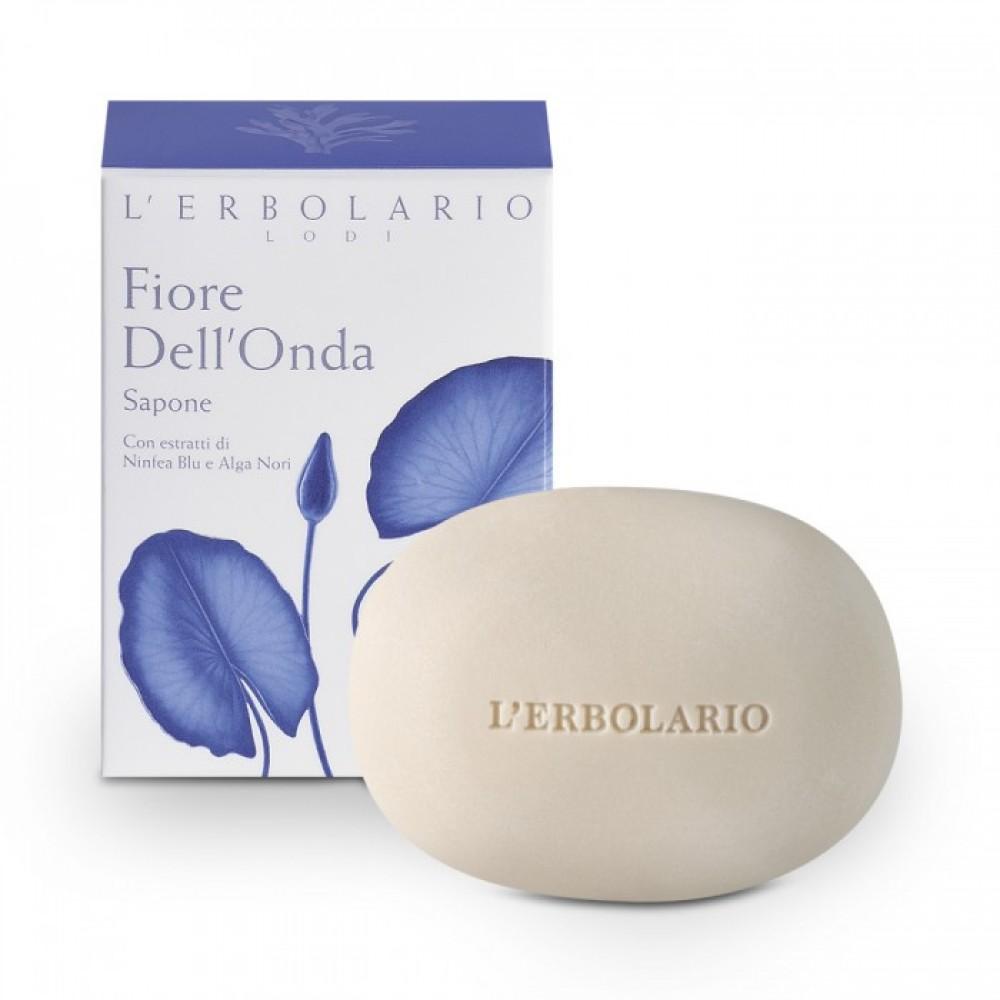 Душистое мыло Голубой лотос L'Erbolario Fiore Dell'Onda Sapone