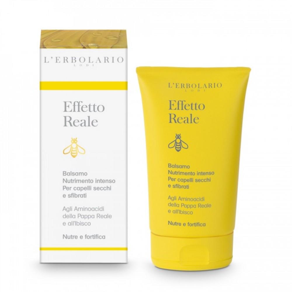 Кондиционер Интенсивное питание для сухих и поврежденных волос L'Erbolario Effetto Reale Balsamo Nutrimento Intenso