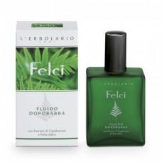 Лосьон после бритья Папоротник L'Erbolario Fluido Dopobarba Felci