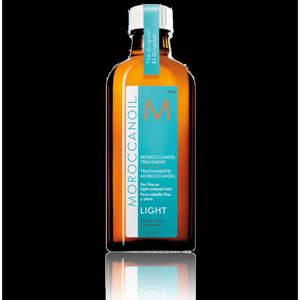 Восстанавливающее масло для тонких или окрашенных волос Moroccanoil Hair Treatment Light