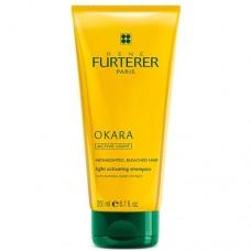 Шампунь для сияния мелированных волос Rene Furterer Okara Illuminating Light Activating Shampoo