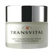 Обогащенный анти-возрастной концентрат для кожи лица Rich Concentrated Cream Transvital
