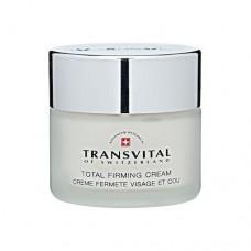 Крем для упругости кожи лица, шеи и декольте Transvital Total Firming Cream