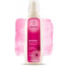 Розовое гармонизирующее молочко для тела Weleda Wildrose Verwоhnende Pflegelotion