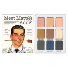 Палетка теней theBalm Meet Matte Ador