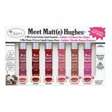 Набор мини блесков theBalm Meet Matte Hughes Mini vol3
