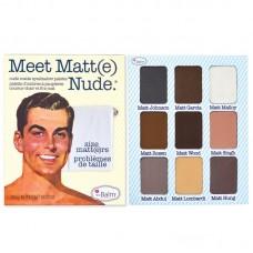 Палетка теней theBalm Meet Matte Nude Size Matters