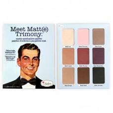 Палетка теней theBalm Meet Matte Trimony